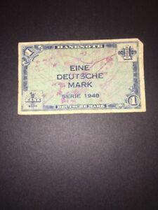 Deutsche Mark 1 Mark Banknote 1948 Pic2a