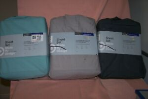 Sheet Set Made by Design New in Pack Twin/XL Twin 3 Piece Set 100% Cotton Choose