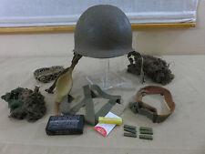 #232 US M1C WW2 Paratrooper Helmet Stahlhelm Fallschirmjäger Airborne 101st 82nd