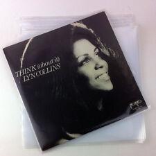"50 x 12"" / LP Vinyl Record Sleeves 600 gauge PP COVERS Clear Heavy Duty"