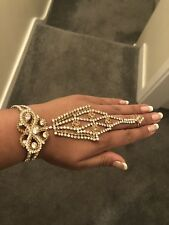Finger ring hand harness chain bracelet party wedding jewellery Christmas Gift