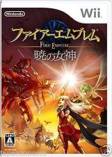 Used Wii Fire Emblem: Akatsuki Megami Nintendo JAPAN JP JAPANESE JAPONAIS IMPORT