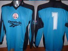 Bolton Wanderers BRANAGAN Match Player Shirt Jersey Football Soccer L Reebok 98