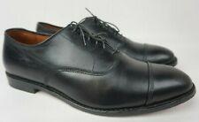 Allen Edmonds Park Avenue Black Leather Oxfords Shoes Size 12 3E EEE
