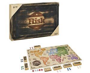 NEW HASBRO RISK RUSTIC EDITION CLASSIC BOARD GAME C2322