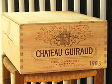 1983 CHATEAU GUIRAUD, 12 x 0,75l in OHK  !!! 90 PARKER !!!