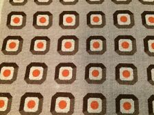Altea BARNEY'S NEW YORK Italy Made Brown Geometric Wool Geometric Pocket Square