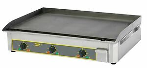 ROLLER GRILL - Steel Griddle Electric - PSR 900E