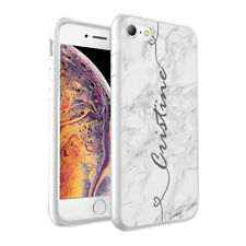 Personalised NAME MARBLE Printed Phone Back Case Cover for Various Models - 0014