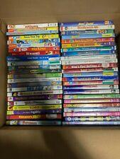Lot Of 120 Used Dvd Kids Movies - 120 Bulk Kid Dvds - Used Dvd Lots - Wholesale