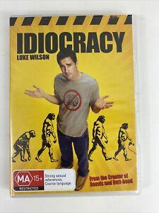 Idiocracy - DVD Region 4 PAL - Luke Wilson Comedy