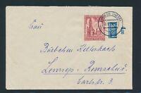 BERLIN 1953, Mi. 108 Brief, portorichtige EF!! Mi. 110,--!!