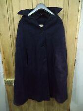 1950's Vintage Hooded Wool Cape