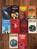 Vintage Fantasy Sci Fi Paperbacks Lot of 10 Arthur C. Clarke, Childhood's End