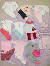 baby girl clothes 0-3 months lot