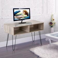 "Modern Entertainment 42"" TV Stand Media Console With Metal Hairpin Legs"