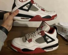 Jordan 4 Retro Fire Red (308497-110) Size US 10.5