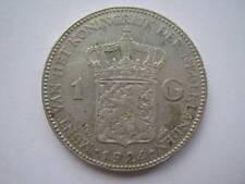 Netherlands 1924 silver Gulden VF
