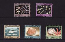 1992 Isle of Man, Port Erin Marine Laboratory, NH Mint Set, SG 513-17