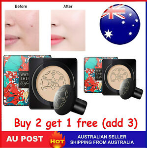 Air Cushion Mushroom Head CC/BB Cream Concealer Moisturizing Makeup Foundation