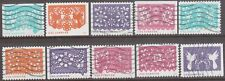 Scott #5081-90 Used Set of 10, Colorful Celebrations (Off Paper)