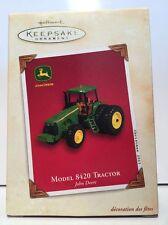 Hallmark Keepsake Ornament John Deere Model 8420 Tractor