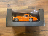 Welly Mercedes-Benz 300 SL Orange Sports Car 1:38 Scale Diecast + Misc Diecast