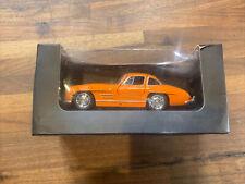 Welly Mercedes-Benz 300 SL Orange Sports Car 1:38 Scale Diecast + Misc Diecast