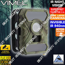 Trail Camera Game Hunting Wireless Vimel Scout Security Farm  1080 No Spy Hidden