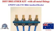 DIFF BREATHER KIT - Universal METAL FITTINGS
