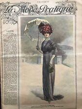 MODE PRATIQUE June 17,1911 +sewing patterns - Manteau en Ratine (Coat) DOUCET