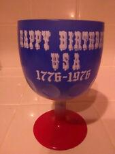 Vintage Authentic Bicentennial Rare Americana 1976 Thumb Goblet - Pristine!