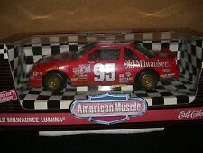 1/18 ERTL 1995 Nascar #95 Tim Richmond Old Milwaukee Lumina
