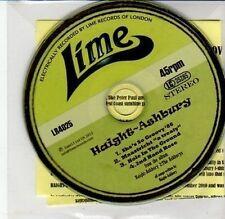 (DD110) Haight-Ashbury, 4 track album sampler - 2012 DJ CD