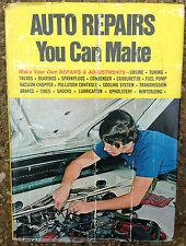 1950s - 1971 AUTO REPAIRS YOU CAN MAKE BOOK, REPAIR MANUAL ENGINE TUNING BRAKES