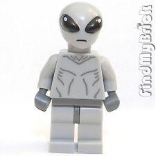 M157 Lego Gray Minifigure Classic Area 51 Alien UFO (Gray Alien Only No Gun) NEW
