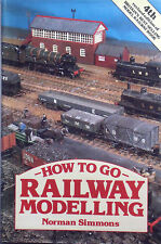 How to Go Railway Modelling by Norman Simmons (Hardback, 1981)