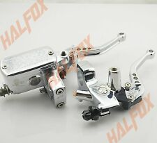 "1"" Chrome Brake Master Cylinder Clutch Levers Honda STEED 400 shadow 600 VT750"