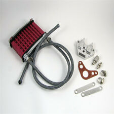 Oil Cooler Kit + Face Plate Alloy Monkey Pitbike Red Brand New Best Price