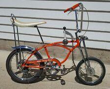 1968 SCHWINN STINGRAY ORANGE KRATE BANANA MUSCLE BIKE Bicycle 100% ORIGINAL