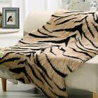 Tiger Stripes Print Rug Faux Animal Carpet Bedroom Rug Living Room Sofa Mat