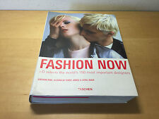 Book TASCHEN Fashion Now - i-D selects the world's 150 most important designers