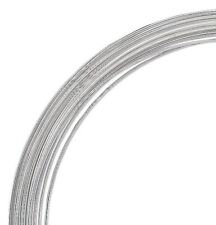 1 Oz (60 Loops) Silver Plated Carbon Steel 1 3/4 Inch Memory Wire Small Bracelet