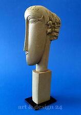 "AMEDEO MODIGLIAN Sculpture MO06 ""TêTES"" magnifique Parastone"