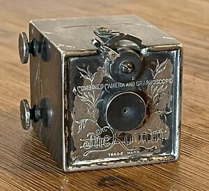 ANTIQUE 1892 THE KOMBI CAMERA AND GRAPHOSCOPE BY ALFRED C. KEMPER