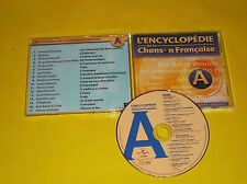 CD COMPIL PROMO /BARBARA/GAINSBOURG/CHRISTOPHE/HALLYDAY/TELEPHONE/RITA MITSOUKO/