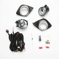 Halogen Front Fog Light W Bulbs Switch Wire 1set For