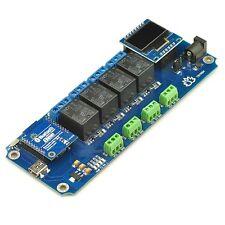 Tstr04 - 4 Channel,4 Temperature Sensors Bluetooth Smartphone Relay,Thermostat