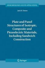 Plate and Panel Structures of Isotropic, Composite and Piezoelectric Materials,