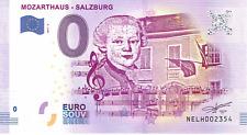 Österreich Mozarthaus NELH 2017-2 Null € 0-Euro-Souvenir Schein